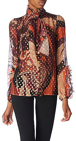 Pucci Filo coupe blouse