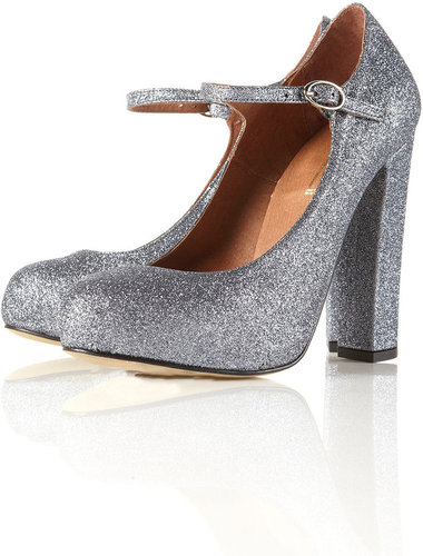 GOSFORD Multi Glitter Mary Jane Heels