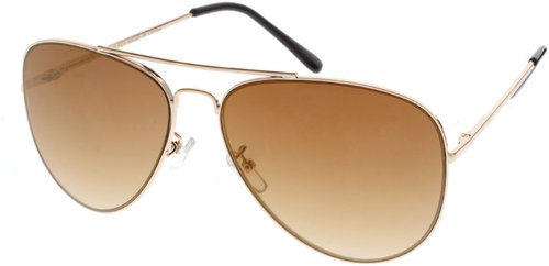 ASOS Gold Mirrored Sunglasses