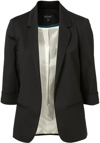 Three Quarter Sleeve Blazer