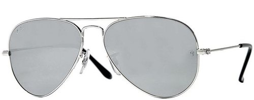 Ray-Ban Sunglasses, Mirrored Lens Aviator