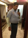 Happy Endings' Zachary Knighton sported some extra pounds in his trailer. Source: Twitter user ZachKnighton