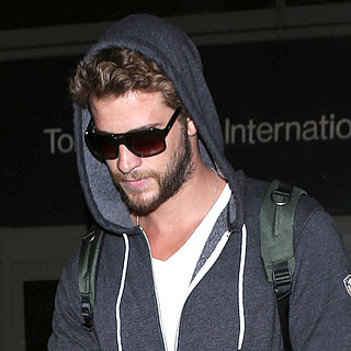 Liam Hemsworth Returns to LA | Pictures