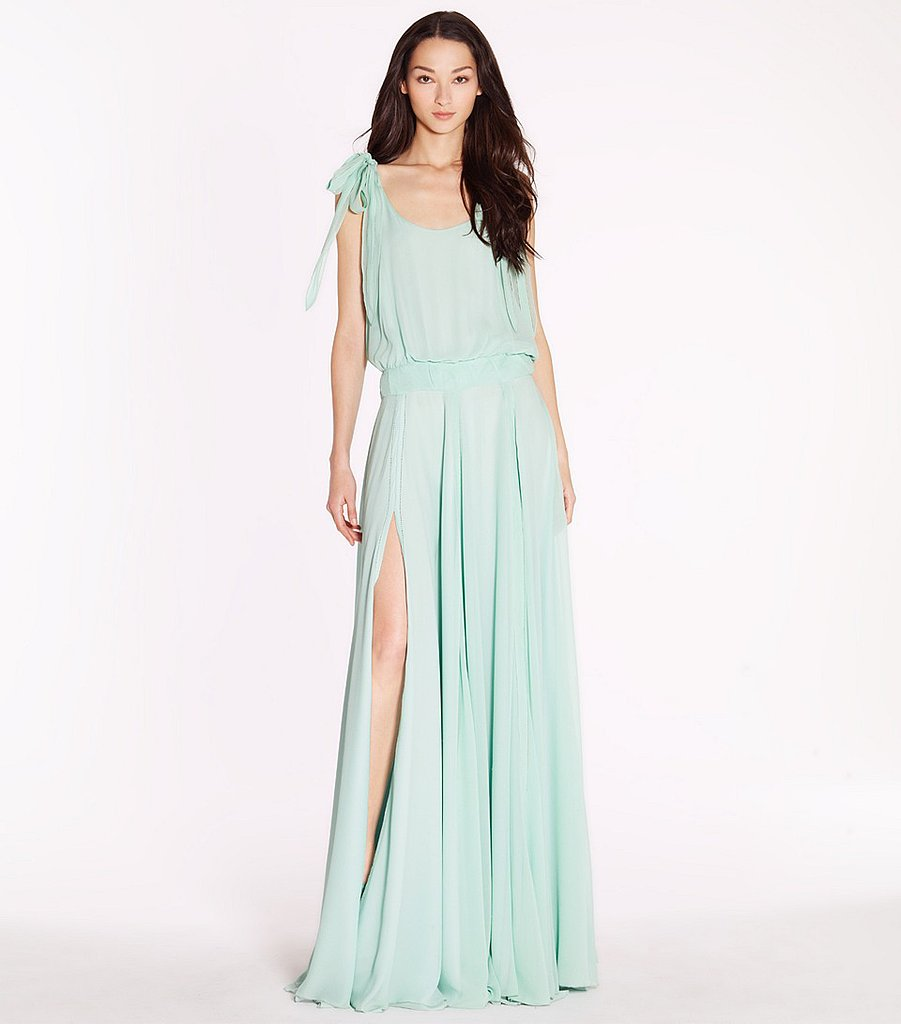 We can't get enough of this seafoam-green ethereal Tory Burch Beckett dress ($348, originally $995).