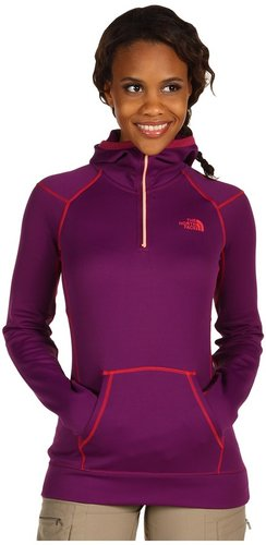 The North Face - Women's Stretch Ninja Hoodie (Premiere Purple/Teaberry Pink) - Apparel