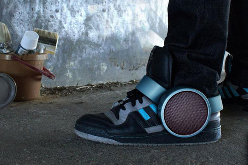 Sneakers and Speakers Together At Last?