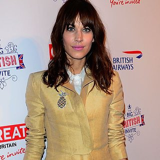 Alexa Chung in Carven at Big British Invite