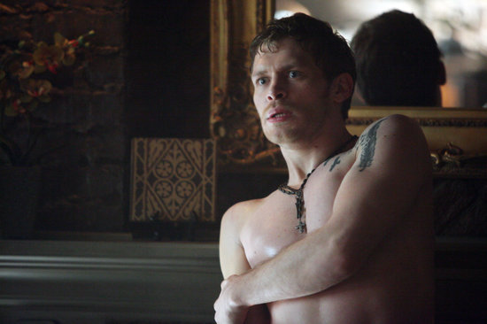 Joseph Morgan on The Vampire Diaries.