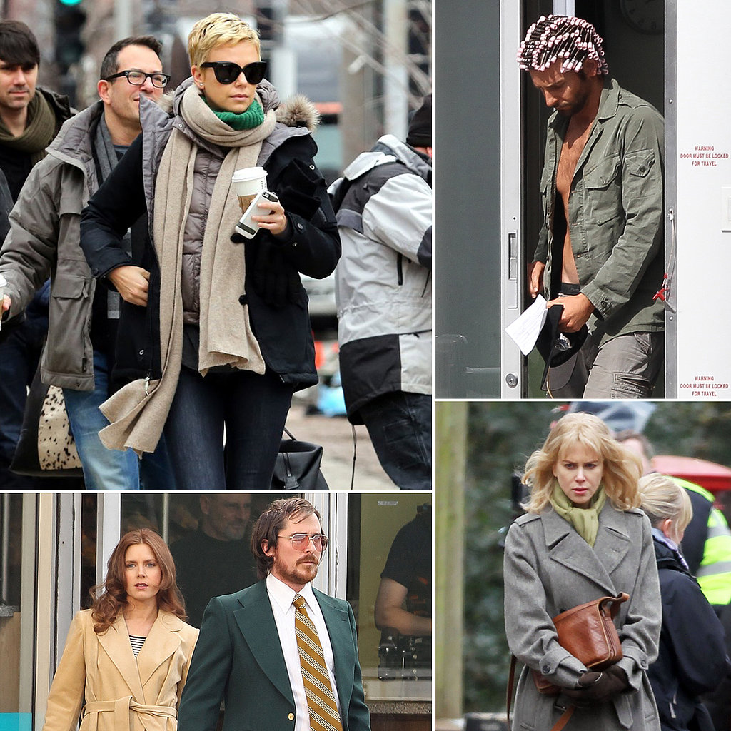 Bradley Cooper, Charlize Theron, Nicole Kidman, and More Stars on Set