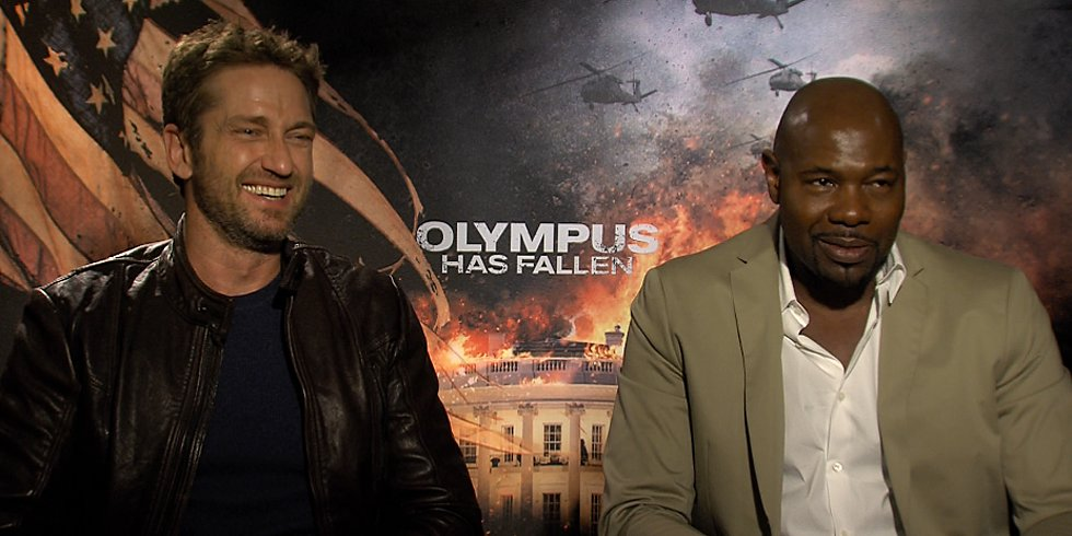 Gerard Butler and Olympus Has Fallen Director Antoine Fuqua Have National Secrets