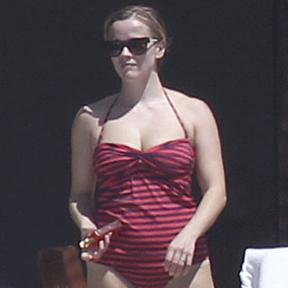 Reese Witherspoon in a Swimsuit With Shirtless Jim Toth