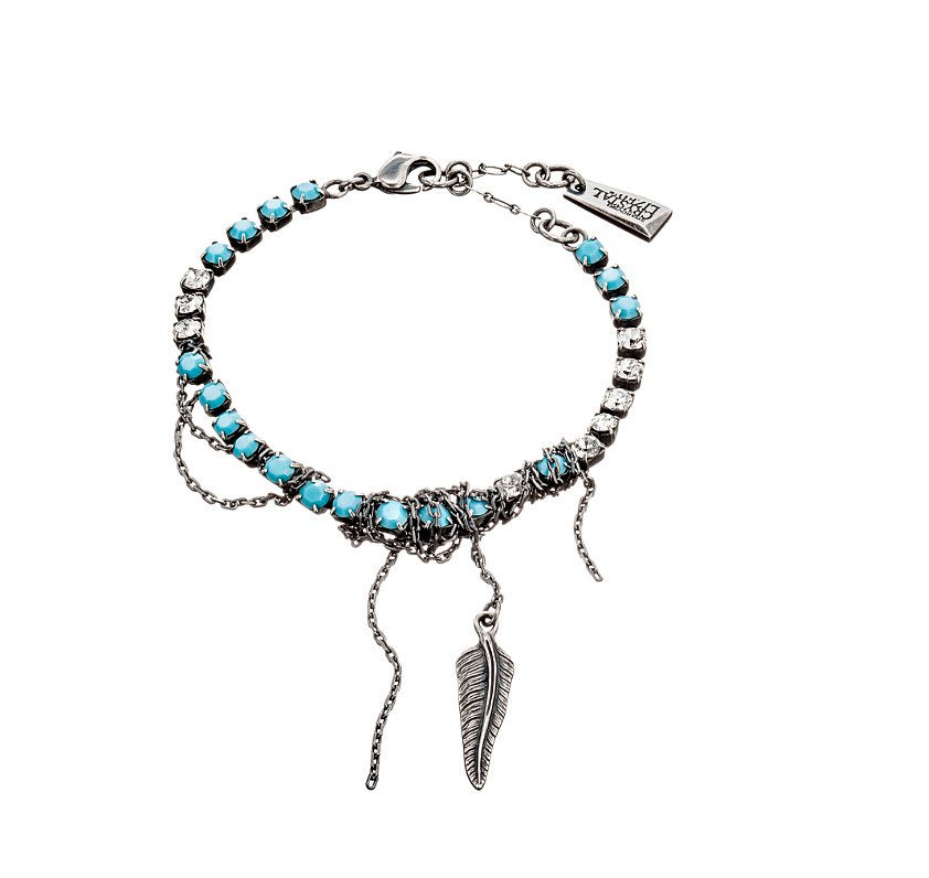 Zoë Kravitz for Swarovski Crystallized Sierra Bracelet ($90)