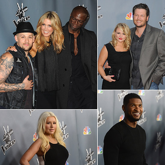 Joel, Delta and Seal Hit Up the Season 4 Premiere of The Voice US