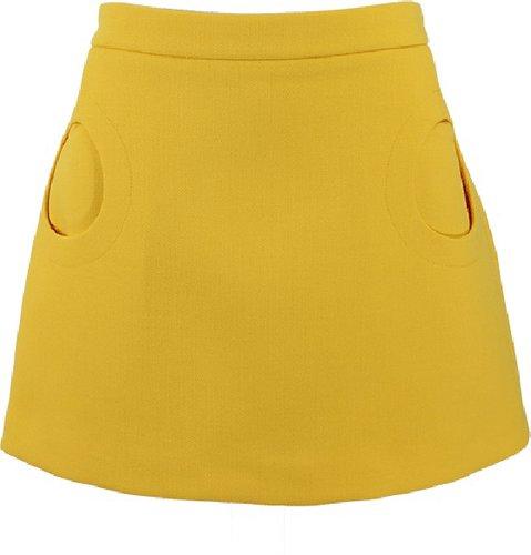 MICHAEL KORS Duvatine Circle Pocket Skirt