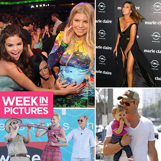 The Week in Pictures: Kids' Choice, Kylie Gillies, Chris Hemsworth, Ellen & More