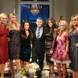 Andy Cohen posed with The Real Housewives of Beverly Hills. Source: Instagram user bravoandy