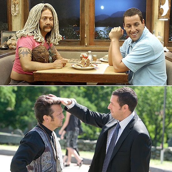 Rob Schneider and Adam Sandler