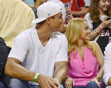 Hayden and Ex Wladamir Reignite Romance and Share a Courtside Kiss