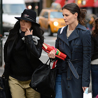Katie Holmes in NYC With Her Stylist Jeanne Yang | Pictures