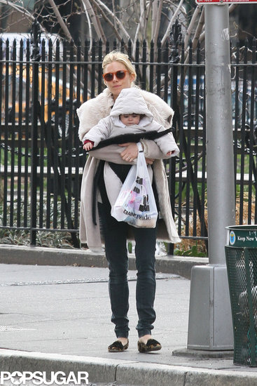 Sienna Miller stepped out with Marlowe in NYC.