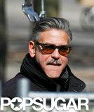 George Clooney filmed The Monuments Men in Berlin.
