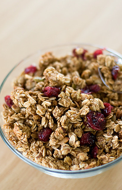 Cashew and Cranberry Granola