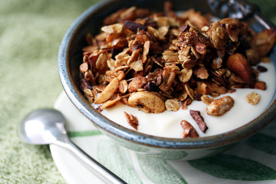 Maple Nut Butter Granola