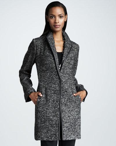 Eileen Fisher Speckled Tweed Jacket