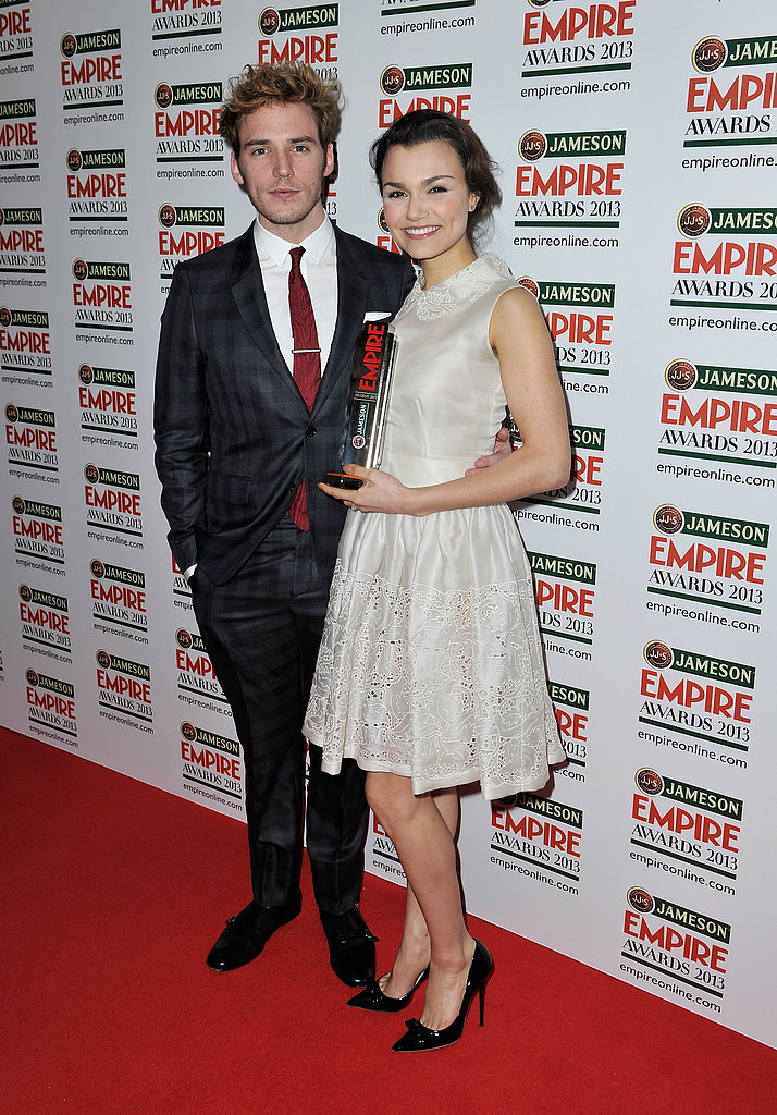 Sam Claflin and Samantha Barks