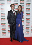 Sam Claflin and Laura Haddock