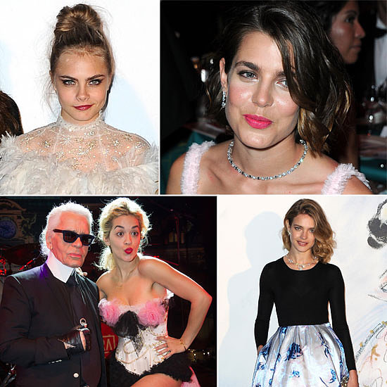 Supermodels and Royalty Mix It for Bal De La Rose Du Rocher in Monaco