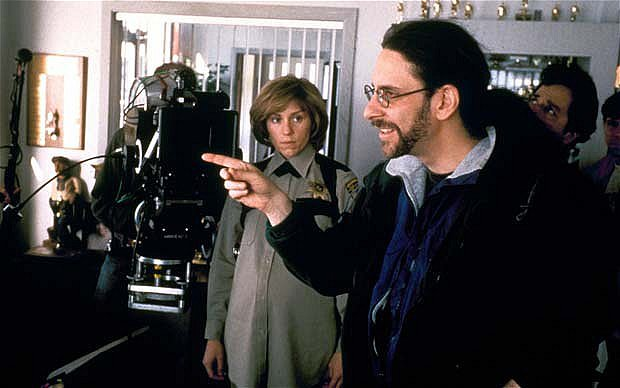 The Coen Brothers and Frances McDormand