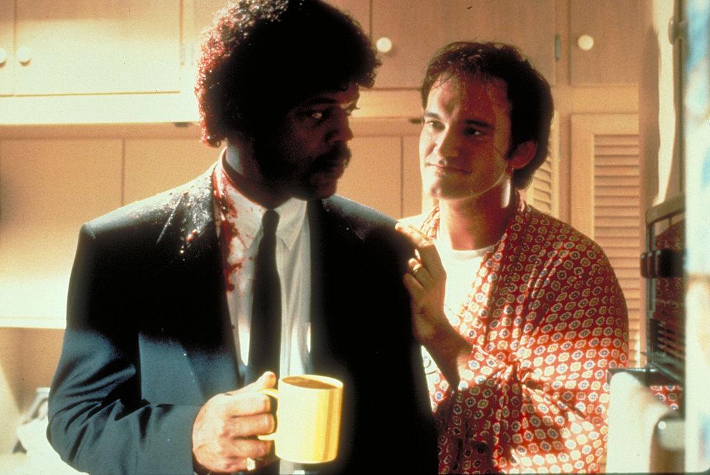 Quentin Tarantino and Samuel L. Jackson