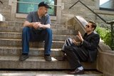 David Fincher and Brad Pitt