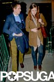 Eddie Redmayne Does Date Night and Talks Angelina Jolie
