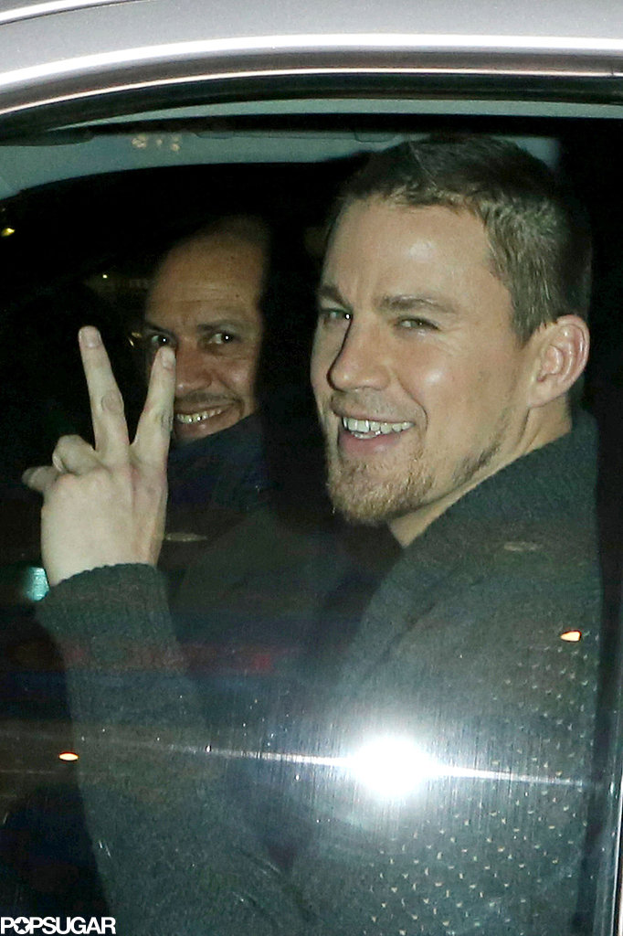 Channing and Jenna Take on Fan Frenzy in London