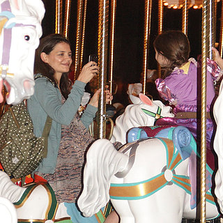 Katie Holmes at Disney World With Suri