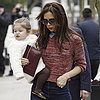 Victoria Beckham and Harper in Notting Hill, London | Photos