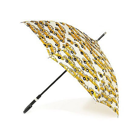 Nothing says NYC (or adorable!) like this Totes cab-print stick umbrella ($22, originally $30).