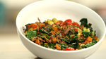 Whip Up This Veggie Scramble For Breakfast