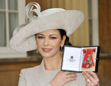 Catherine Zeta-Jones, CBE
