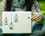 Birdcage Decal