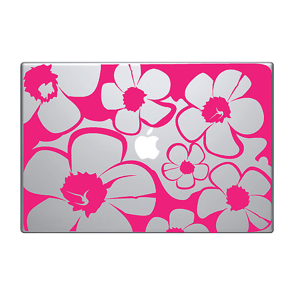 Abstract Floral Decal