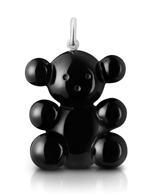 Ever since I saw Kate Bosworth sporting the diamond version of this adorable Tous bear, I've loved the modernist take on the childhood favorite. Rendered in sleek black, this Bubble Bear pendant ($179) is the dash of whimsy my Spring looks need.  — Melissa Liebling-Goldberg
