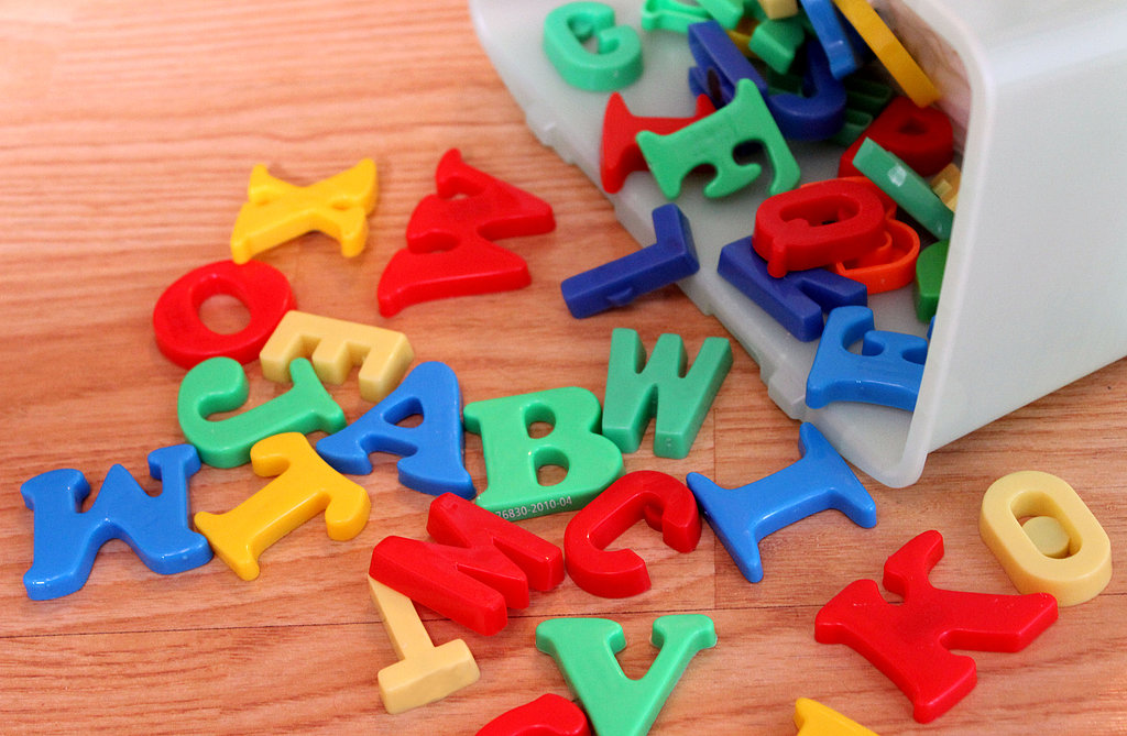 Alphabet Magnets Case