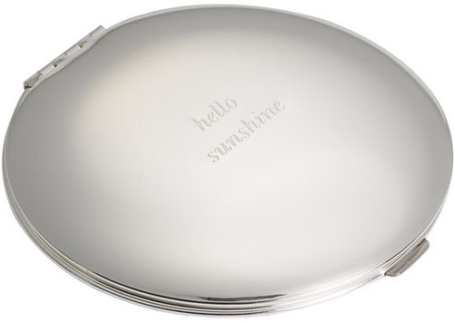 Kate Spade New York 'silver Street' Compact Mirror