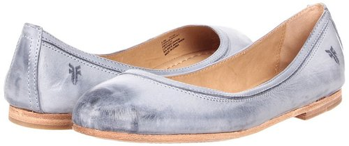 Frye - Carson Ballet (Blue Burnished Antique Leather) - Footwear