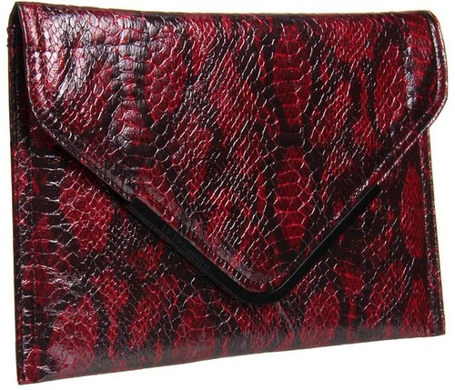 BCBGeneration - Anise Clutch (Wine) - Bags and Luggage
