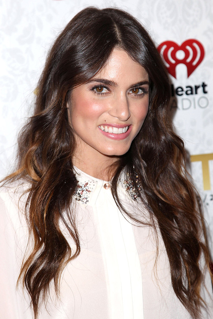 Nikki Reed's beachy waves are a hair classic. Use a clampless iron, like the Conair Xpress Shine Clampless Curling Iron ($18) and wrap your hair away from your face. Don't forget a beach spray and separate your strands with your fingers to master this look.