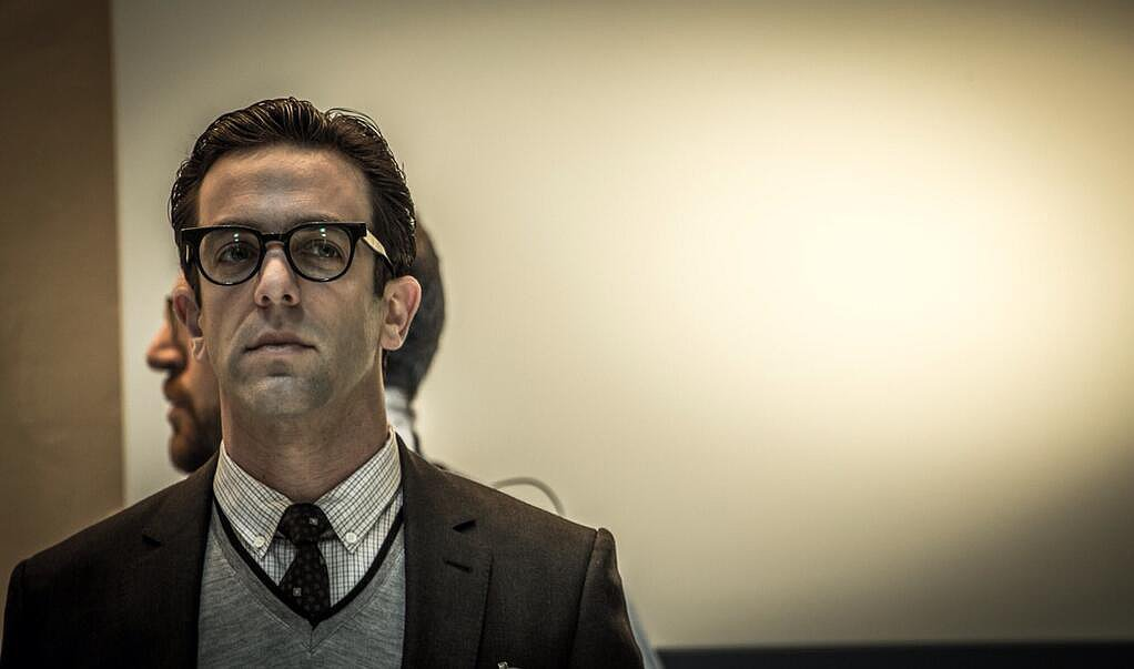 "This one, of B.J. Novak, is by far my favorite. Webb's comment: ""A supposed rumor about a Dunder-Mifflin takeover of Oscorp?"" Source: Twitter user MarcW"